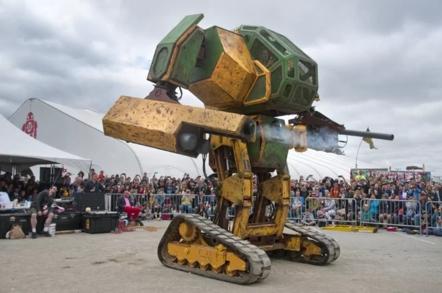 the USA :: MegaBot MKII