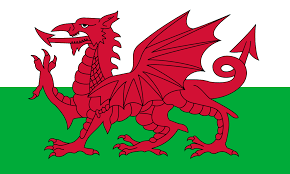 Wales UK Red Dragon Emblem